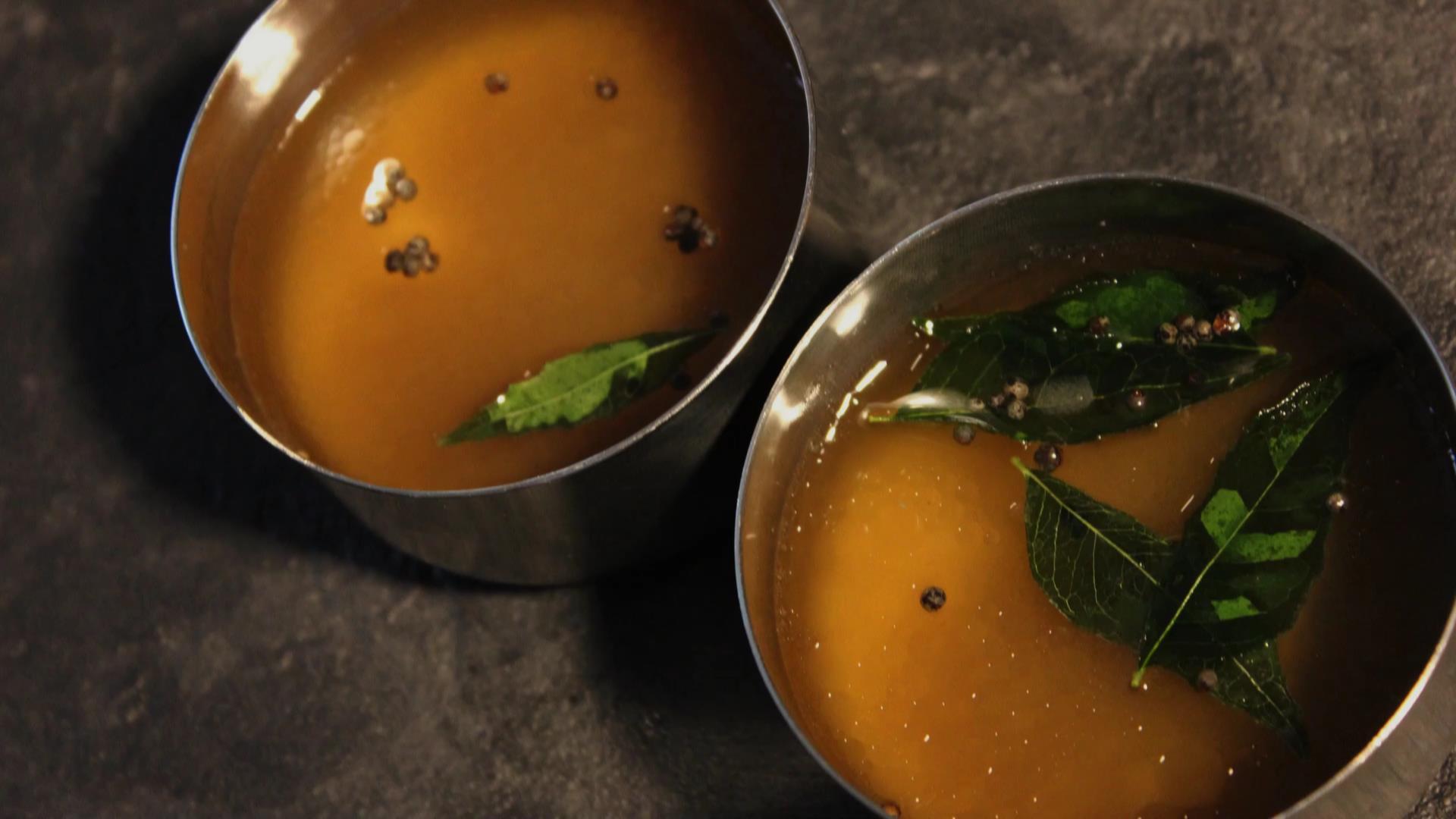 南インド屋の「ラッサム」のレシピ
