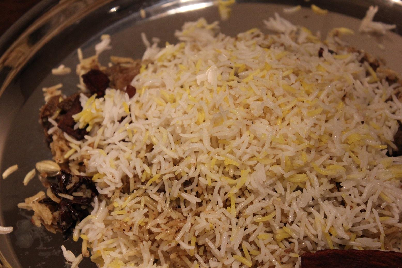 97%本場の味をめざす「ハイデラバーディ・ラムビリヤニ」のレシピ
