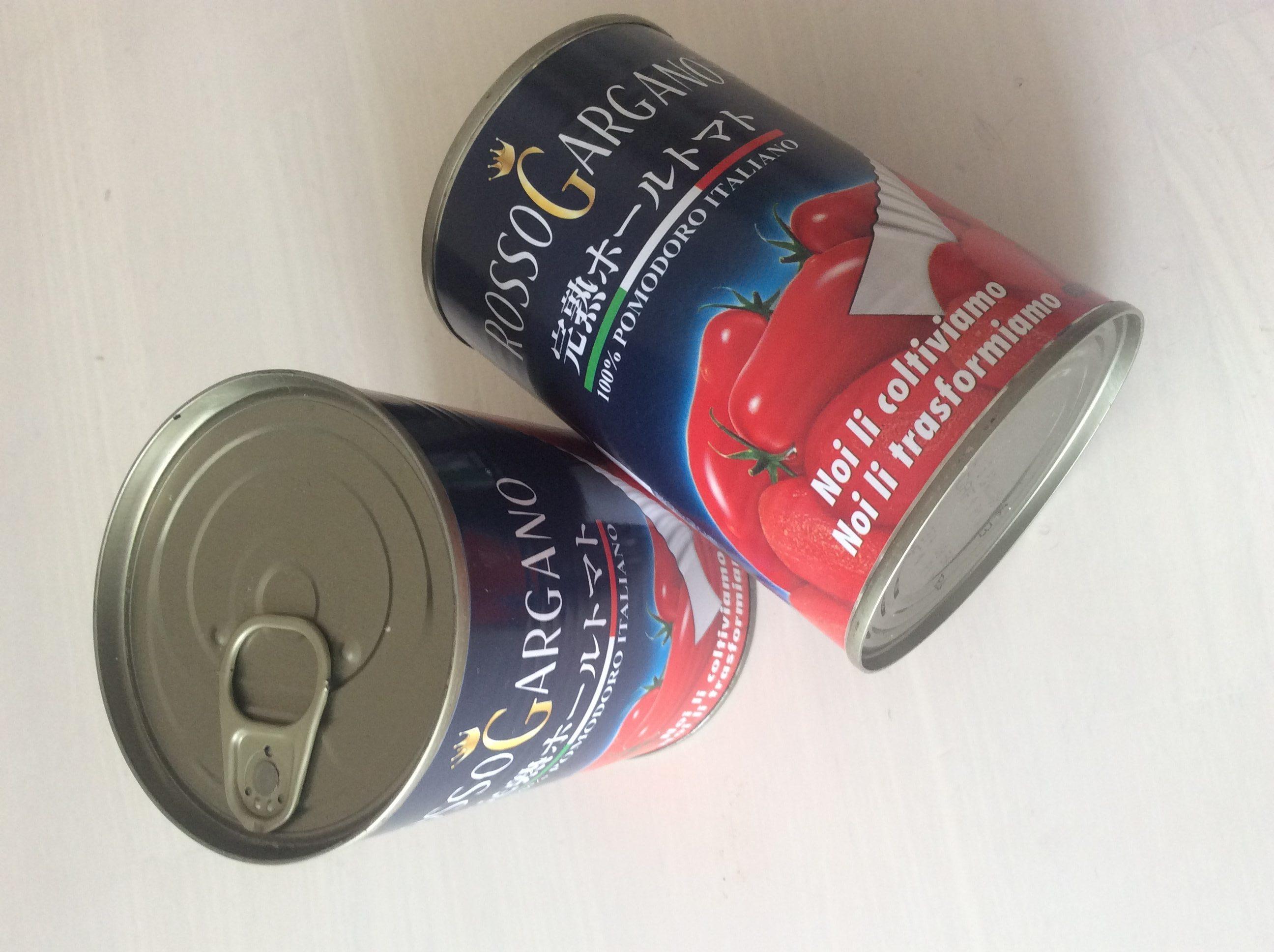 トマト缶はうまい!あとは塩と油を入れればもっとうまい!