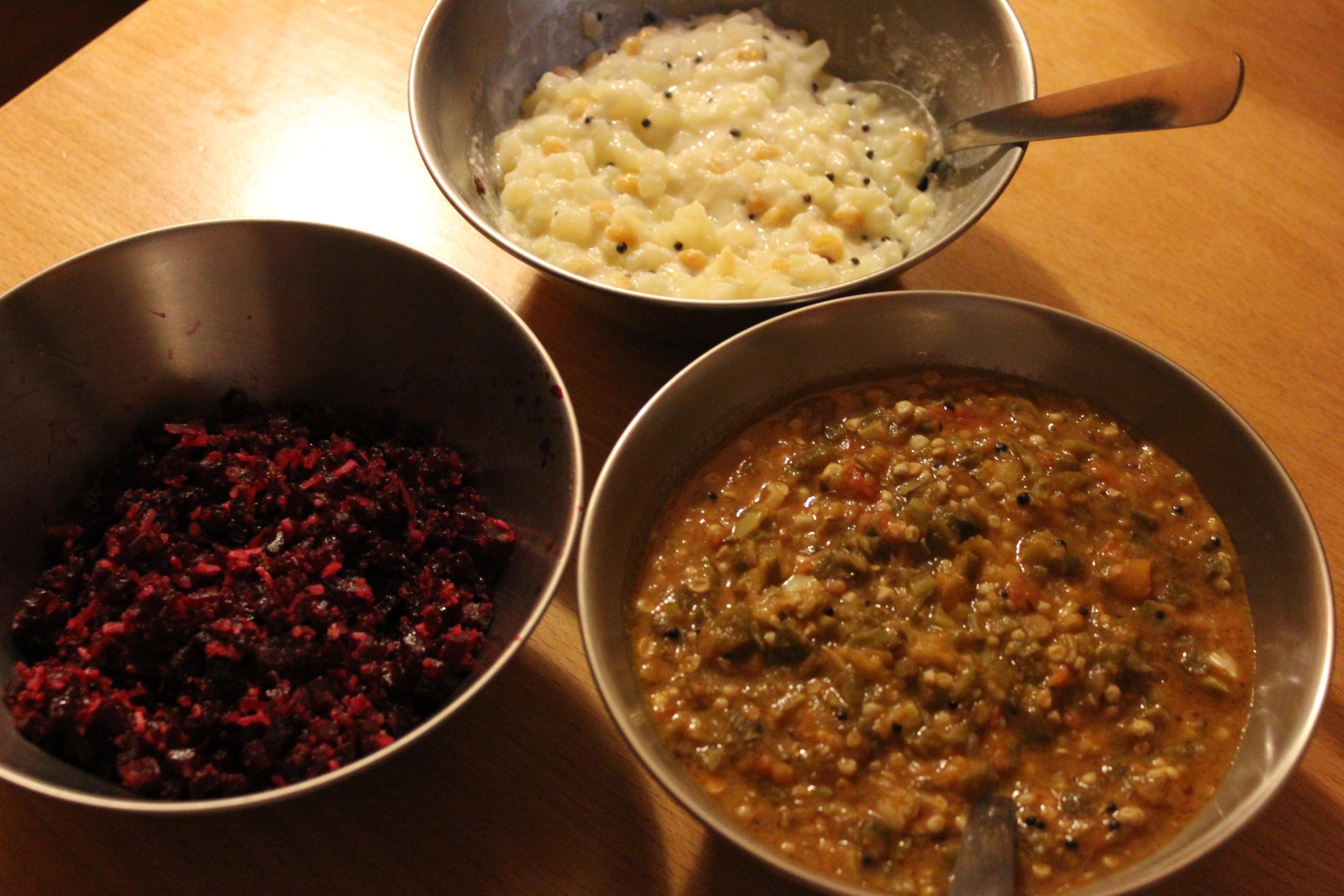 Sree sabareesのようなミールスが作りたい人向けのレシピ集